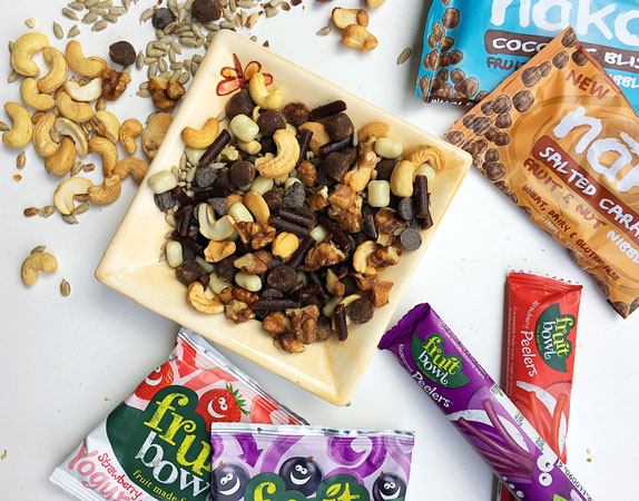 How to make your own Healthier Trail Mix