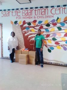 Nature's Delicacies Celebrates Nelson Mandela Day- Saartjie Baartman Centre