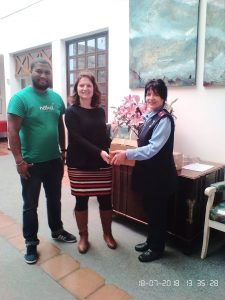 Nature's Delicacies Celebrates Nelson Mandela Day- St Lukes Combined Hospice