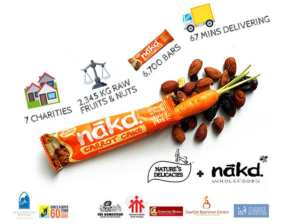 Nature's Delicacies Celebrates Nelson Mandela Day