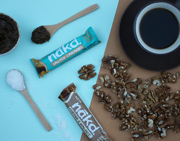 NEW Nakd Bar Flavours - Salted Caramel and Coffee Walnut