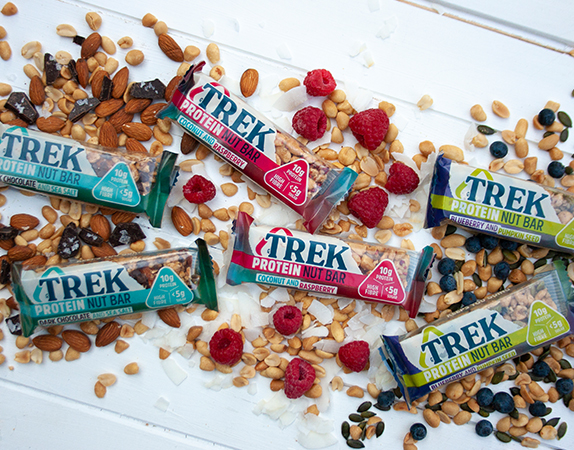 Introducing the All New Trek Protein Nut Bar