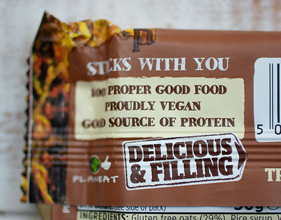 What's in a Label Trek Protein Flapjacks