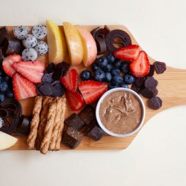 How to Make a Healthier Sweet Snack Board